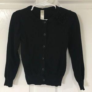 Cherokee Black Cardigan Size 3T